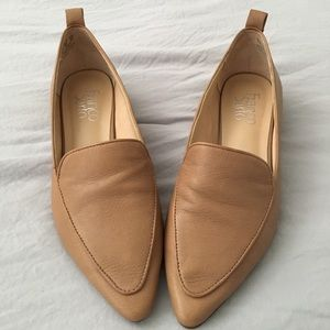 FrancoSarto Leather Loafers Like New